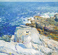 Frederick Childe Hassam: The South Ledges, Appledore