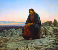 Ivan Kramskoy: Christ in the Wilderness