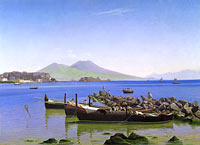 Christen Købke: Bay of Naples