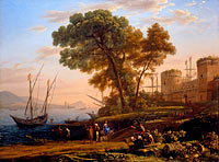 Claude Lorrain: An Artist Studying from Nature