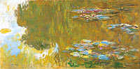 Claude Monet: The Water Lily Pond, c. 1917-19