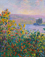 Claude Monet: Flower Beds at Vétheuil