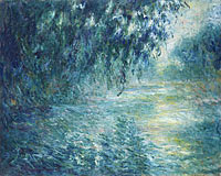 Claude Monet: Morning on the Seine