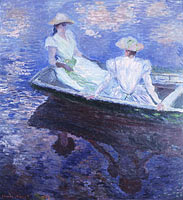 Claude Monet: On the Boat