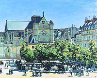 Claude Monet: St. Germain l'Auxerrois