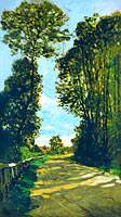 Claude Monet: Walk (Road of the Farm Saint-Siméon)