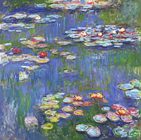 Claude Monet: Water Lilies (1)