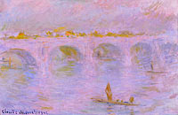 Claude Monet: Waterloo Bridge in London