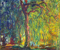 Claude Monet: Weeping Willow