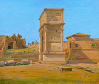 Константин Хансен: The Arch of Titus in Rome