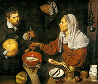 Diego Velázquez: An Old Woman Cooking Eggs