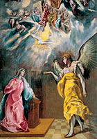 Эль Греко: The Annunciation (5)
