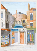 Drawing, watercolour - The Panorama, Leicester Square