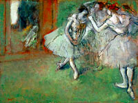 Edgar Degas: A Group of Dancers