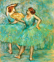 Edgar Degas: Two Dancers, c. 1905