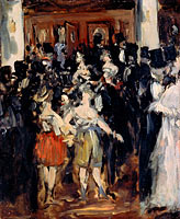Édouard Manet: Masked Ball at the Opera (1)