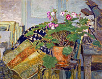 Édouard Vuillard: Le Pot de fleurs [Pot of Flowers]