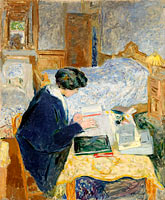 Lucy Hessel Reading (Lucy Hessel lisant)