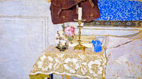 Édouard Vuillard: Nature morte au bougeoir [The Candlestick]