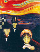 Edvard Munch: Anxiety