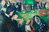 Edvard Munch: At the Roulette Table in Monte Carlo