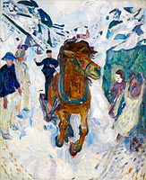 Edvard Munch: Galloping Horse