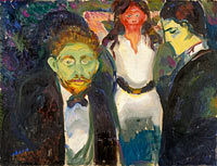 Edvard Munch: Jealousy