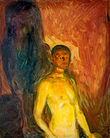 Edvard Munch: Self-Portrait in Hell