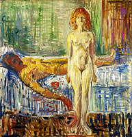 Edvard Munch: The Death of Marat II