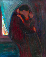 Edvard Munch: The Kiss