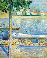 Edvard Munch: The Seine at Saint-Cloud