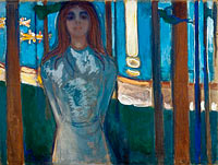 Edvard Munch: The Voice , Summer Night