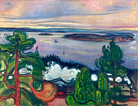 Edvard Munch: Train Smoke