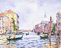 Venice: Afternoon on the Grand Canal