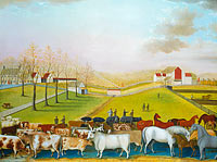 Edward Hicks: The Cornell Farm