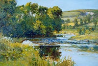 Edward Mitchell Bannister: Streamside