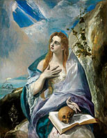El Greco: The Penitent Mary Magdalene