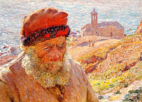 Ampelio, old fisherman of Bordighera