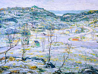 Ernest Lawson: Harlem Valley, Winter