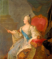 Fyodor Rokotov: Portrait of Catherine II
