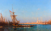 Félix François Georges Philibert Ziem: View of İstanbul (2)