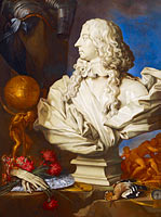 Allegorical Still Life with Bernini's Bust of Francis I d'Este