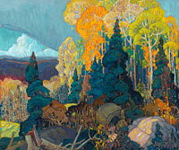 Franklin Carmichael: Autumn Hillside