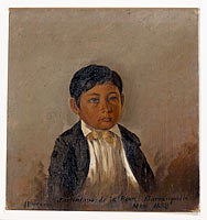 Colombia, Barranquilla, portrait of boy