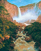 The Falls of the Tequendama near Bogota, New Granada