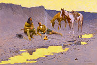 Frederic Remington: A New Year on the Cimarron