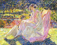 Frederick Carl Frieseke: Sunbath