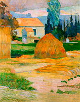 Paul Gauguin: Landscape near Arles