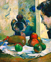 Paul Gauguin: Still Life with Profile of Laval