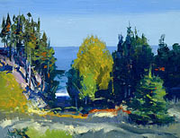 George Bellows: The Grove - Monhegan